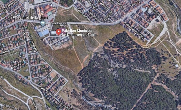 Zona donde se quieren construir bloques de cuatro plantas, según el PP.