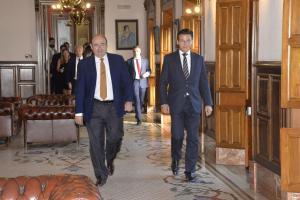 Luis Salvador y Sebastián Pérez, en una imagen de archivo.