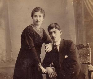 Foto de boda de Soledad Sánchez Esteban y José Alganza Granizo.