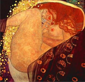 'Dánae' (1907) de Gustav Klimt,