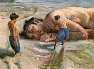 'El ahogado más hermoso del mundo', cuento de Gabriel García Márquez.