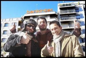 Jesús Toral, con su último equipo en AD, los grandes 'Albertos'.