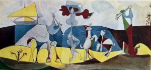 La joie de vivre (La alegría de vivir, 1946), de Pablo Picasso.