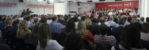 Comité Federal del PSOE celebrado este lunes.