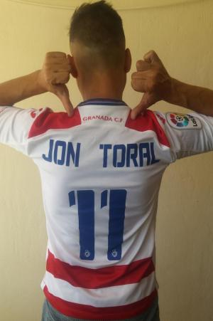 Todos con el Granada y con el gran Jon Toral.