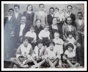 Foto de la familia de Presentación Jiménez Fraguas.