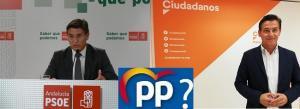 Salvador, en su etapa en el PSOE, en la Cs y la interrogante del PP.