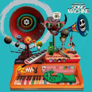 Portada de 'Song Machine, Season One: Strange Timez', de Gorillaz.