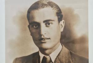 José Aragón Torres, en la única fotografía que conserva la familia.