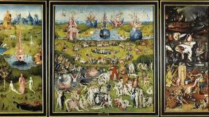 'El jardín de las delicias' (hacia 1490-1500) El Bosco.