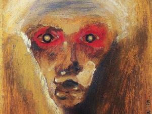 'La mirada roja' (1910), de Arnold Schönberg.