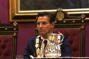 Luis Salvador, recién elegido alcalde de Granada.