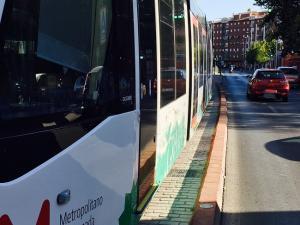 El Metro avanza por el Zaidín.