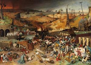 'El triunfo de la Muerte', ( 1562 - 1563) de Pieter Bruegel El Viejo.