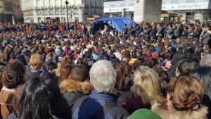 Manifestación el domingo en Madrid para reclamar empleo y salario dignos.