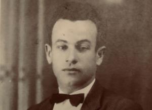 Enrique Muñoz Arévalo, en un retrato que conserva la familia.