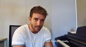 Pablo Alborán, en el vídeo del anuncio.