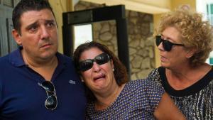 Albert y Noelia, los padres pre adoptivos de Joan.