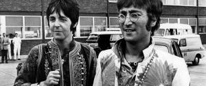 Paul McCartney y John Lennon.