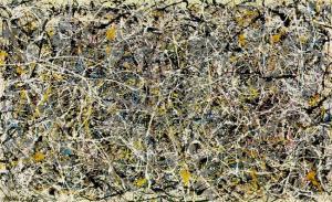 Number 1, de Jackson Pollock (1912-1956).