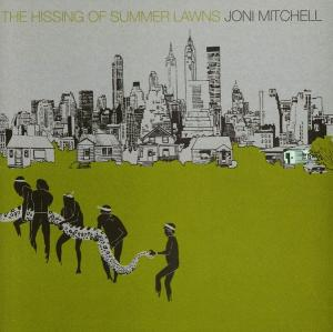 Portada de 'The Hissing of Summer Lawns', de Joni Mitchell.