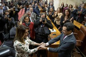 16 de enero de 2019, relevo en la Junta de Andalucía.