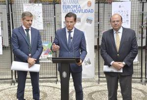 César Díaz, Luis Salvador y Sebastián Pérez.