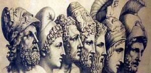 Los siete sabios de Grecia.