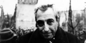 "Bernardo Sánchez Bascuñana en un fotograma de la película ""Queridísimos verdugos"", rodada a finales de 1970."