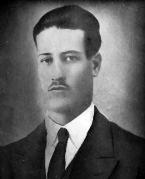 José Antonio Martín López, conocido popularmente como Piojito, en torno a 1930.
