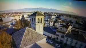 Vista de Cúllar Vega.