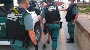 Detención de uno de los integrantes de la banda.