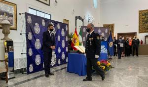 El nuevo jefe superior toma posesión ante el delegado del Gobierno en Andalucía.