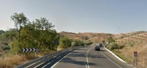 El accidente se produjo en el km 412 de la N-432.