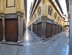 Imagen de archivo de la Alcaicería, en la capital.