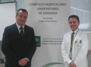 Higinio Almagro y Manuel Bayona, en una imagen de archivo.