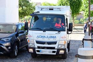 Las dimensiones de los vehículos están adaptadas a las calles de Albaicín y Realejo.
