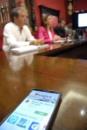 La aplicación se ha presentado en el Ayuntamiento.