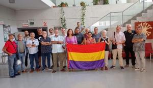 Integrantes de la Asamblea, reunida este sábado en Granada.