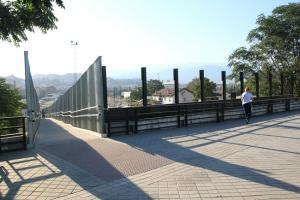 Adiós a las vistas desde el puente de la Redonda.