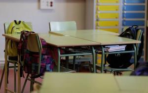 Imagen de archivo de un aula de un centro educativo.