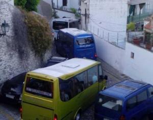 En total hay 79 microbuses autorizados para circular.