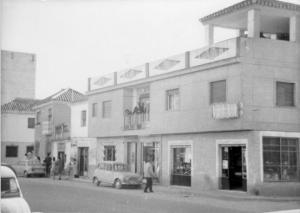 Avenida de Dílar, 38, el hogar zaidinero de los titos Paco y Conchita, a finales de los años 60 del siglo XX.