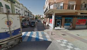 El atraco ha ocurrido en una sucursal de la avenida Federico García Lorca.