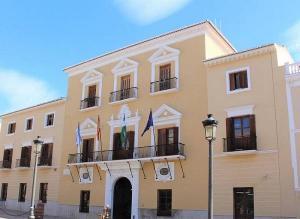 Fachada del Ayuntamiento de Motril.