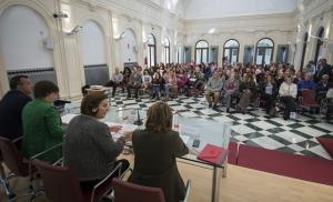 Acto para informar de las líneas de ayudas de Igualdad y Políticas Sociales.