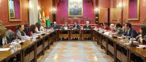 Sesión de constitución del pacto.