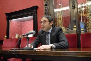 El concejal Miguel Ángel Madrid.
