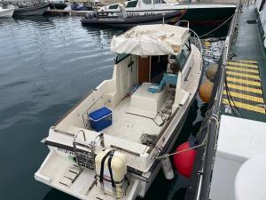 Embarcación que transportaba el hachís.