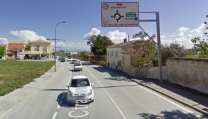 Carretera A-92NR2, salida de Baza hacia Benamaurel.
